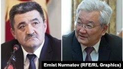 Албек Ибраимов и Кубанычбек Кулматов.