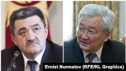 Албек Ибраимов менен Кубанычбек Кулматов.