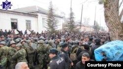Беспорядки в городе Губа (Азербайджан)