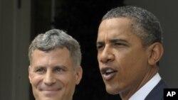 Барак Обама и Алан Крюгер