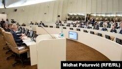 Poslanici u Parlamentu Bosne i Hercegovine, novembar 2019.
