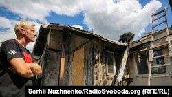Фоторепортаж: наслідки пожежі в будинку активіста Шабуніна