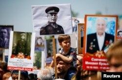 """Акция """"Бессмертный полк"""" в Екатеринбурге. 9 мая 2017 года"""