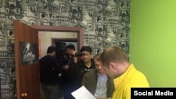 Обыски у Егора Савина