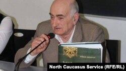 """Нугзар Антелава, автор монографии """"Черкесская культура"""" на грузинском языке"""