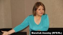 Адвокат Айман Умарова. Алматы, 21 июля 2016 года.