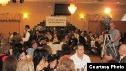 جانب من حفل الإتحاد الديمقراطي العراقي في ولاية مشيغان الأميركية