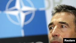 "Secretary-General Anders Fogh Rasmussen said he is seeking savings ""across the board"" in NATO's budget."