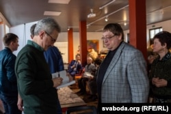 Палітычны аглядальнік і літаратуразнаўца Аляксандар Фядута ўзяў удзел у некалькіх дыскусіях падчас фэсту «Прадмова»