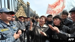 While Kyrgyzstan is no stranger to demonstrations on the streets of the capital (such as this one on March 30), the other Central Asian states seem anxious to prevent anything too similar to the unrest in the Arab world from getting a foothold.