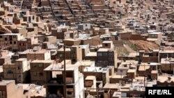 Իրան - Տեսարան Թավրիզ քաղաքից