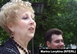 Специалист музея Ф. Достоевского Наталья Барбарат. Семей, 16 мая 2012 года.