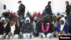 Куткарылган мигранттар