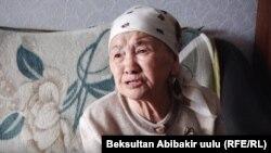 Мать журналиста Нарына Айыпа Райла Идинова.