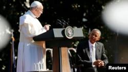 Roma papas Francis və ABŞ prezidenti Barack Obama