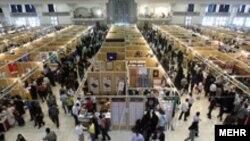 نمایشگاه کتاب تهران برای دومین سال پیاپی در مصلی تهران برگزار شد. (عکس از مهر)