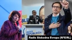 Стево Пендаровски, Гордана Сиљановска Давкова и Блерим Река