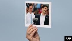 Фотография Митта Ромни и Пола Райана