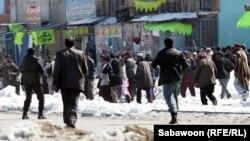 Kabulda, 23-nji fewral.