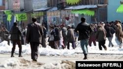 Беспорядки на улицах Кабула