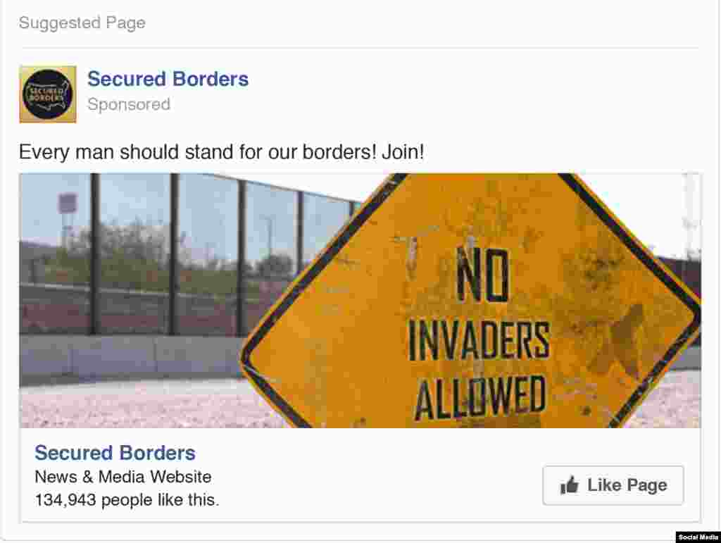 There were also ads on the subject of border security and immigrants, which was a major talking point in the 2016 election campaign.