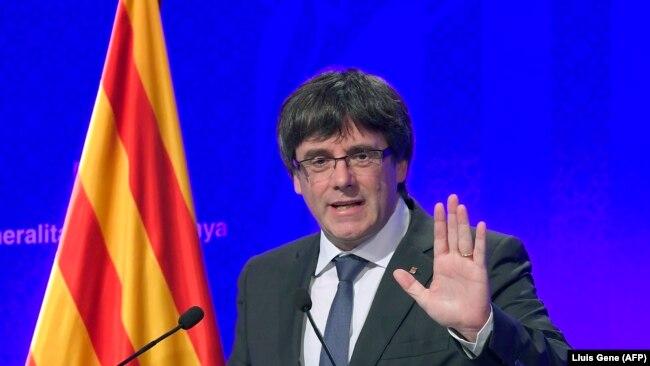 Lideri i Katalonjës, Carles Puigdemont.