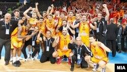 Македонската репрезентација по натпреварот со Литванија