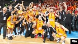 Македонија го освои четвртото место на ЕП во кошарка во Литванија.