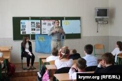 Лекция для детей об истории депортации крымских татар, технический лицей «КПИ», Киев