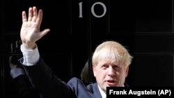 Britain's new prime minister, Boris Johnson