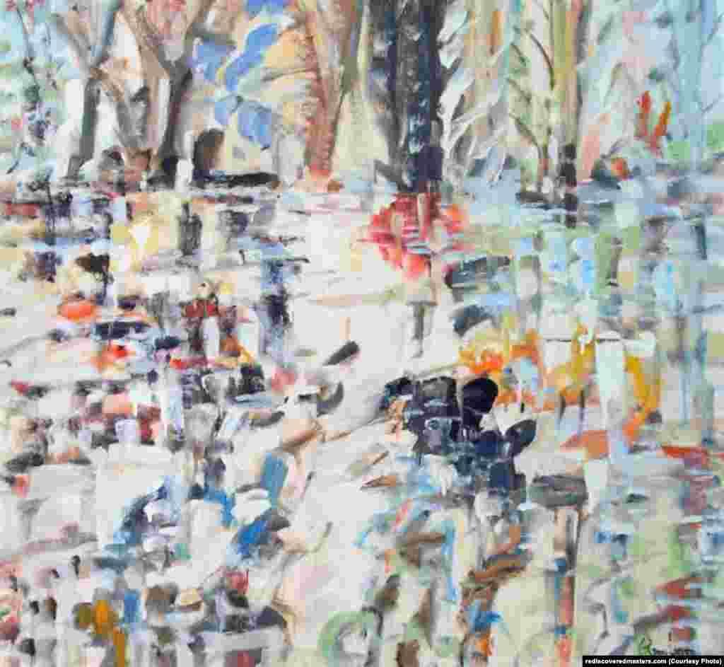 Untitled landscape, Bellport, NY (1990)