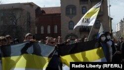 Шествие националистов в Саратове, 1 мая 2011