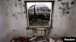 2013 год. Сочи. Один из снесенных ради олимпийской стройки домов.