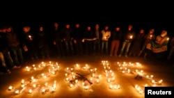 В Сирии вспоминают жертв гражданской войны в канун Нового года (Алеппо, 31 декабря 2014 года)