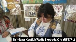 Тетяна Ваценко, майстриня виробів з бісеру