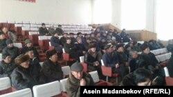 Данияр Нарымбаевдин тарапкерлери, Каракол, 15-февраль 2016-жыл.