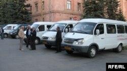Միջքաղաքային երթուղիների միկրոավտոբուսներ Վանաձորում, արխիվ