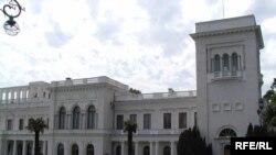 Ливадийский дворец в Ялте, где проводится неформальный саммит СНГ