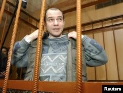 Игорь Сутягин в суде в 2004 году.