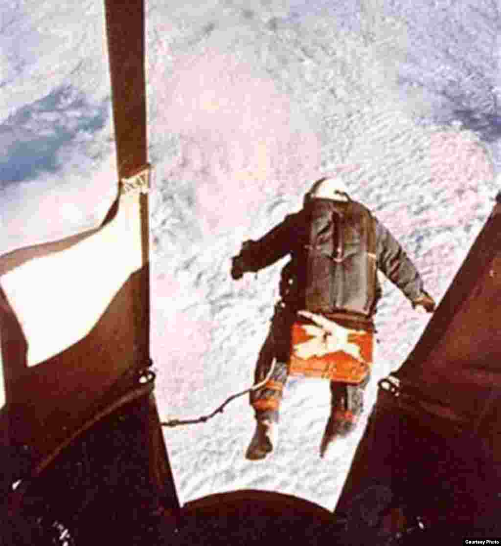 Kittinger jumped from a height of more than 31,000 meters in 1960.