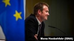 مایکل مان، سخنگوی کاترین اشتون، نماینده اتحادیه اروپا در مذاکرات اتمی