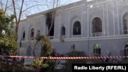Место нападения в Кандагаре, 11 января 2017 года