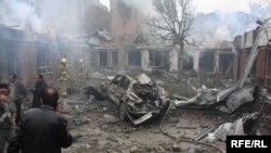 نمایی از حملات انتحاری اخیر در کابل