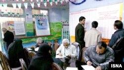 یکی از حوزههای اخذ رأی در انتخابات دور دوم مجلس شورای اسلامی در بهار ۸۷