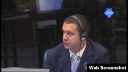 Dušan Janc svjedoči na jednom od haških suđenja