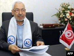 Ennahda leader Rachid Ghannouchi