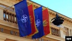 Zastava Crne Gore i NATO-a