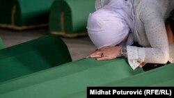 Останки убитых в Сребренице обнаруживают и захоранивают до сих пор. Мемориальное кладбище Поточари, июль 2017