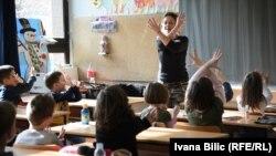 Zejdov razred uči znakovni jezik, Sarajevo, 2016.
