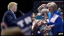 Donald Tramp i Hilari Klinton